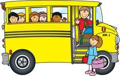 Bus clip art on school buses .