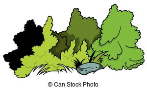 Small clipart shrub #3