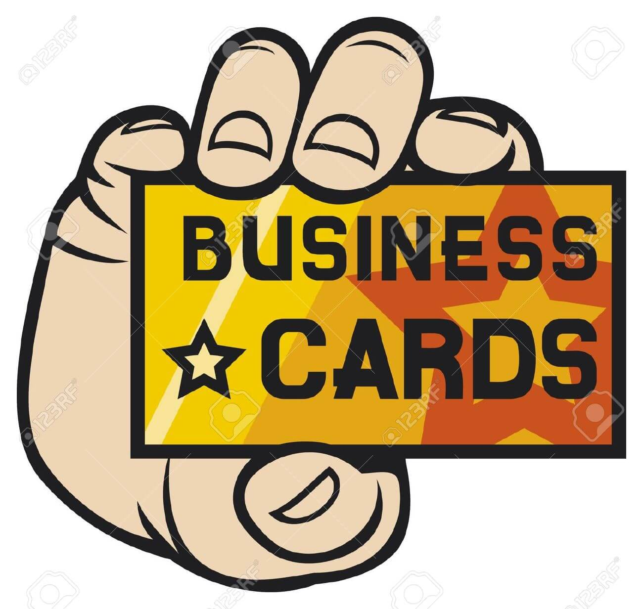 Business Card Clip Art Free. hand holding business card: .