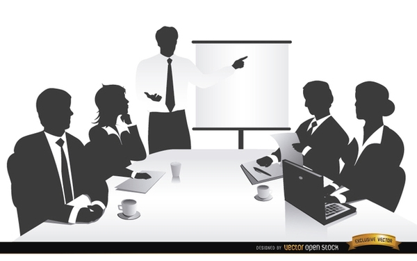 Business Meeting People