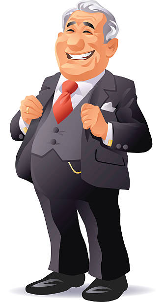 Suit clipart rich businessman #4