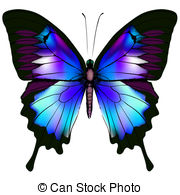 Retro Butterflies Clip Artby pinipin29/3,309 Butterfly - Isolated Butterfly  Vector Illustration