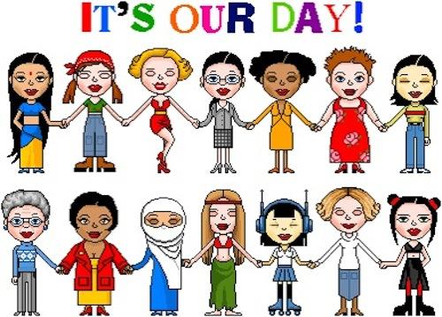 c222807a20d03b0fbea011a0a96b9 - Womens Day Clipart