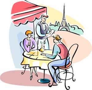 Cafe Clipart A Cafe Near The Eiffel Tower 091212 171682 517009 Jpg