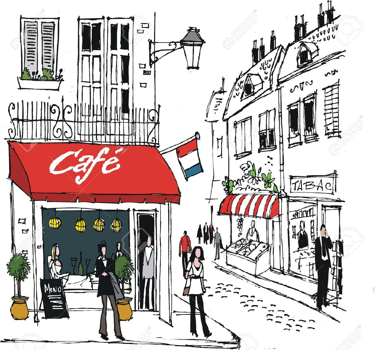Cafe cliparts