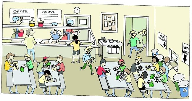 Cafeteria Clipart