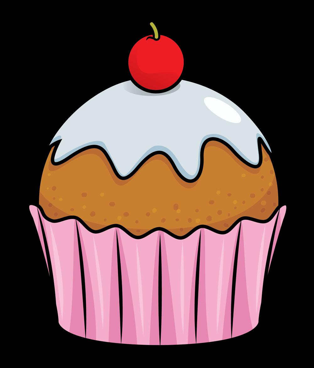 1000x1172 Cupcake free to use clip art