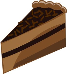 Cake Slice Clipart Chocolate Cake Clipart Image