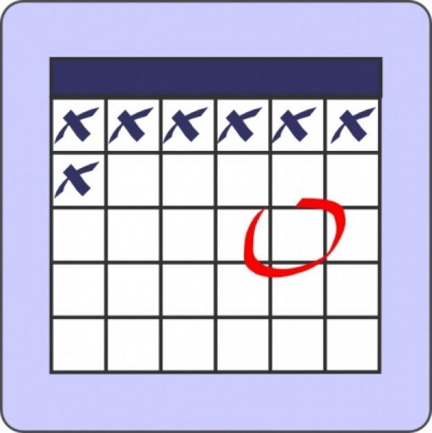 Calendar Clip Art Images Free vector | Excel Monthly Calendar