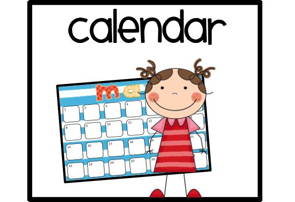 Calendar clip art free