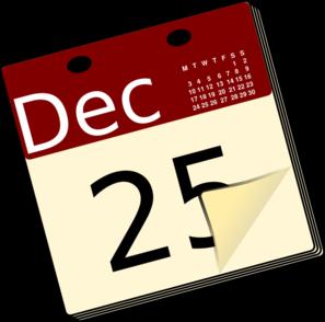 ... Calendar Clipart - Free Clipart Images ...