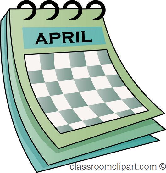 School calendar clip art clip - Calendar Clipart