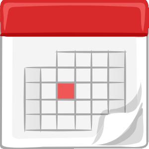 Table Calendar Clip Art