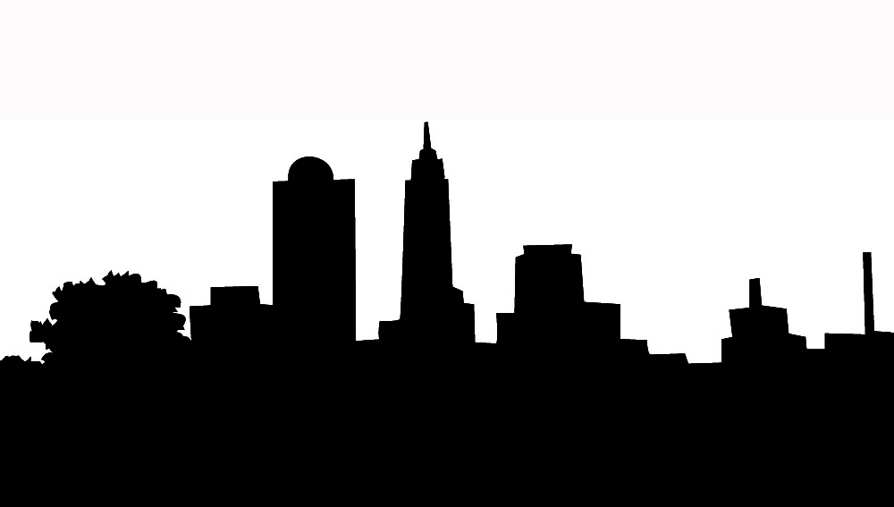 California Skyline Clipart