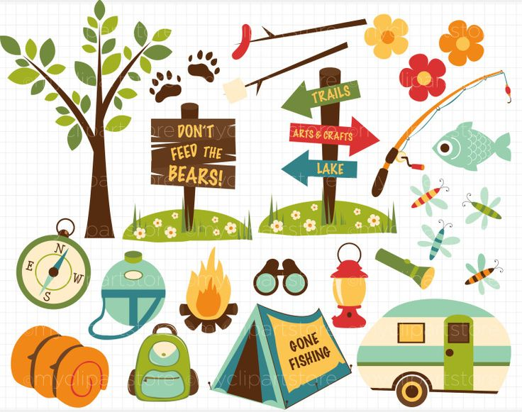 camp clipart