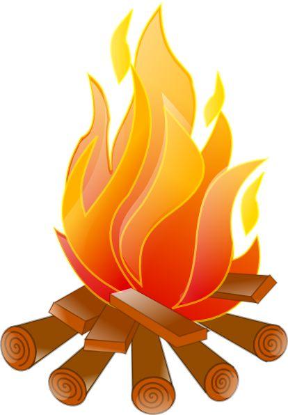 Campfire Clip Art | Campfire .