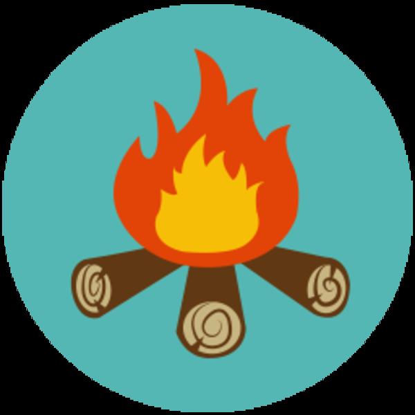 Campfire clipart camp fire .
