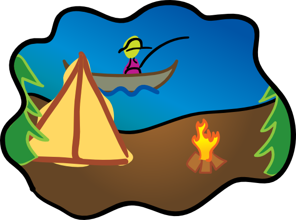 Camping Clip Art at Clker clipartall.com - vector clip art online, royalty free 600 x 446