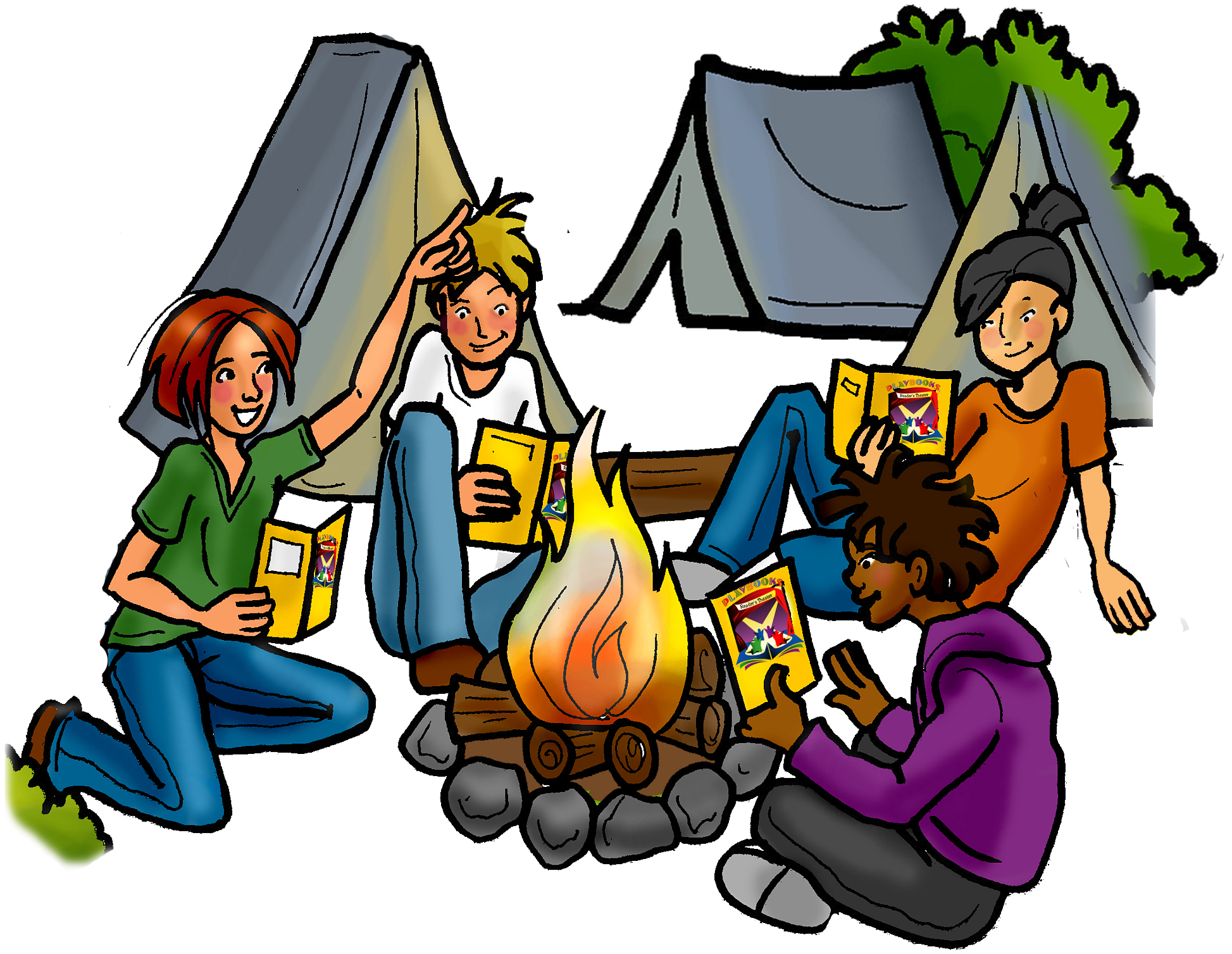 Camping clipart 2
