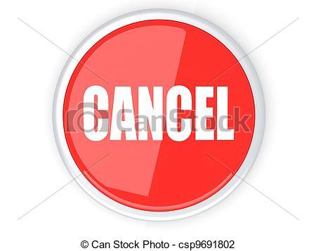 Cancel Button - csp9691802