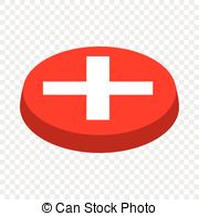 . ClipartLook.com Cancel button isometric icon 3d on a transparent background.