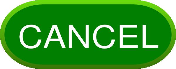 Cancel Button Transparent PNG