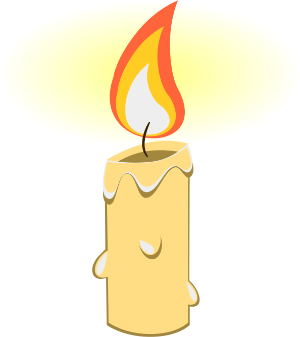 Candle free to use cliparts