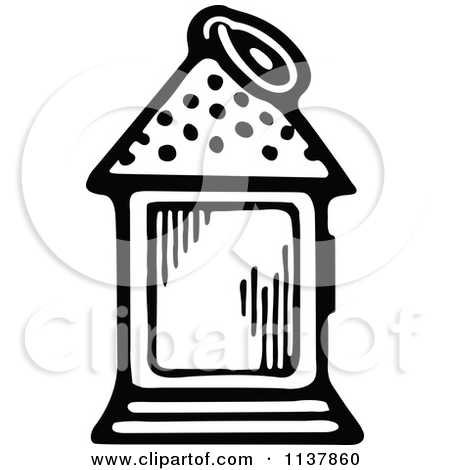 Candle Lantern Clipart .