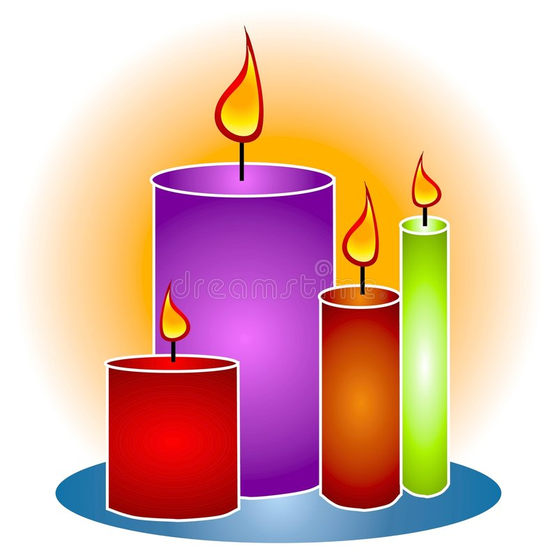 Free clipart birthday candles
