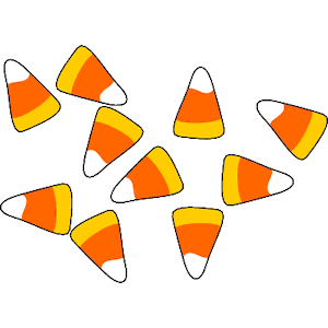 Candy Corn 1 Clipart Cliparts Of Candy Corn 1 Free Download Wmf