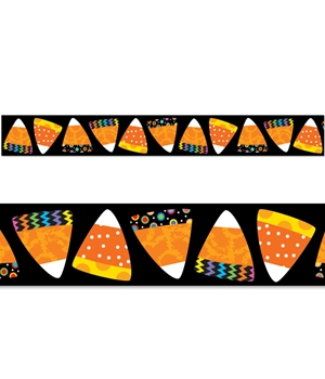 Poppinu0027 Patterns Candy Corn Border
