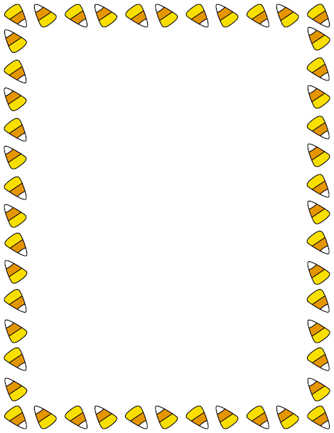 Printable candy corn border. Free GIF, JPG, PDF, and PNG Candy Corn Borders at  http://pageborders hdclipartall.com/Candy Corn Border/candy-corn-border/. EPS and AI versions are  also hdclipartall.com