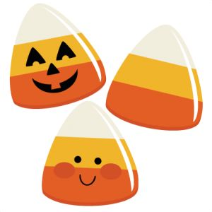 Candy Corns SVG file for scra - Halloween Clipart