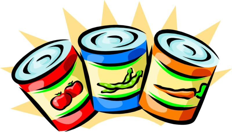 canned food drive posters