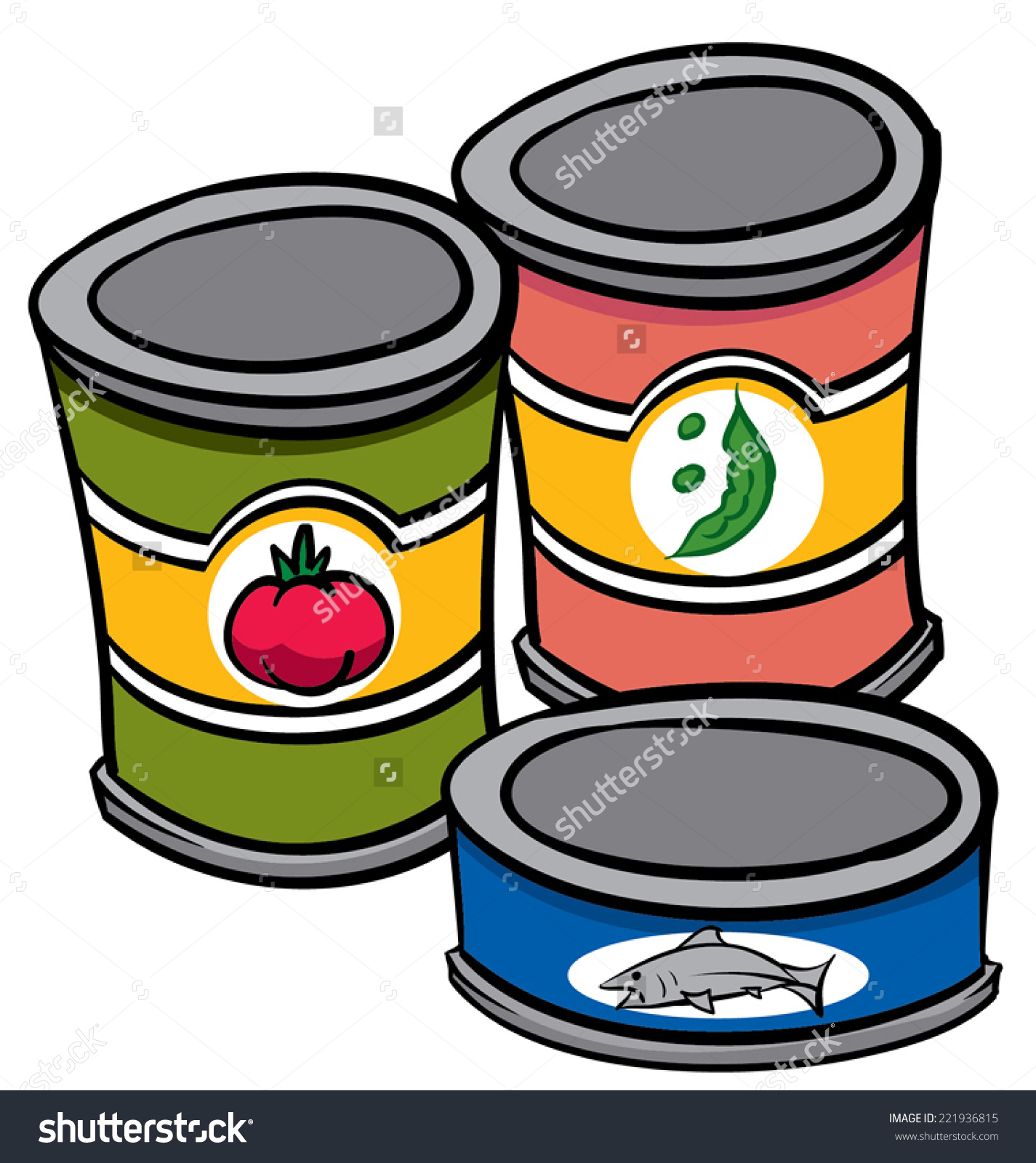 Canned Food Clipart. 52f8c53d723f40b7820390cff6ea26 .