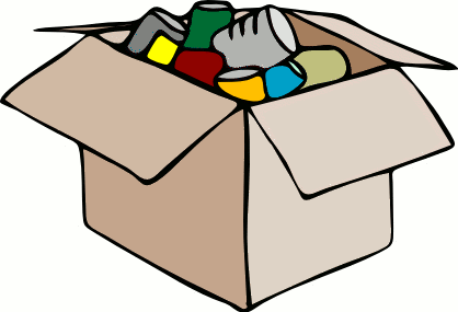 Canned food clipart free
