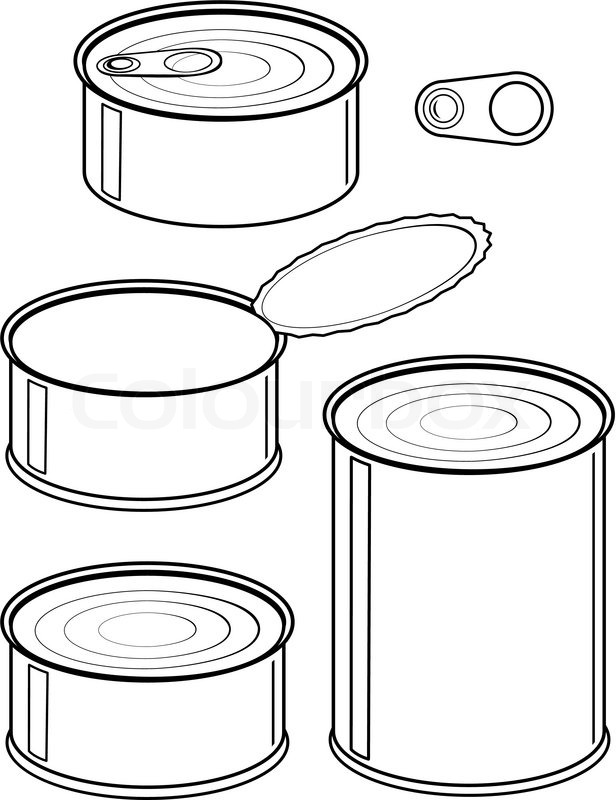 Canned Food Clipart   Healthy .