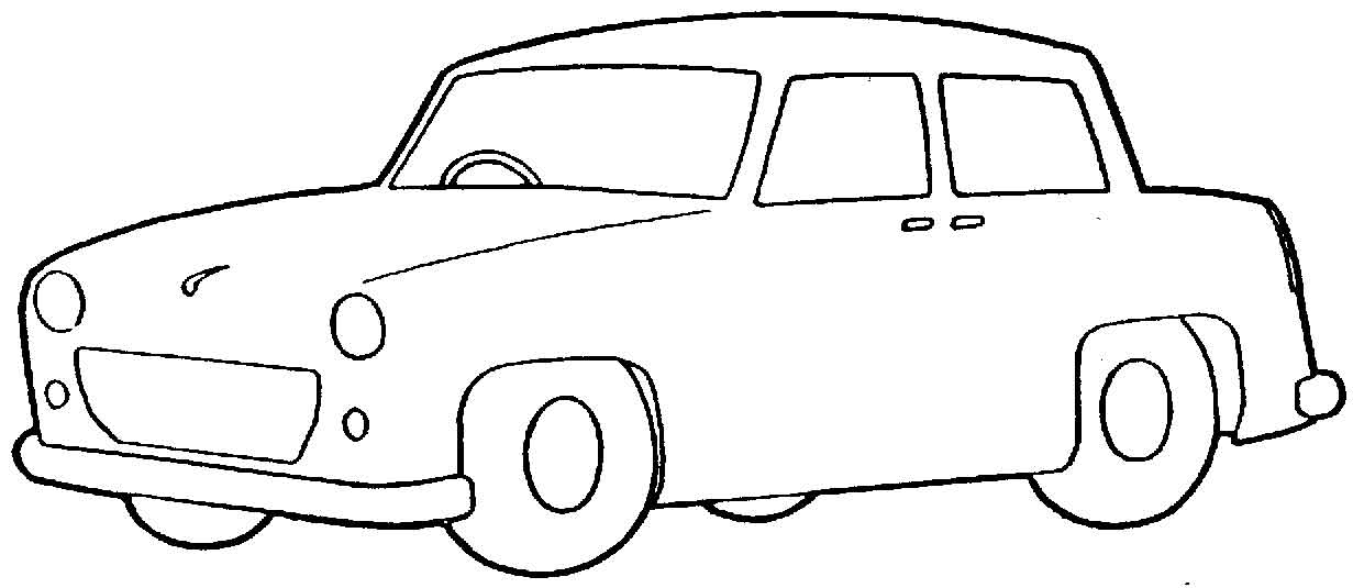 Car Clipart Black And White Free