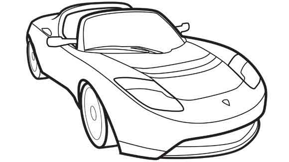 Car Clipart Black And White .
