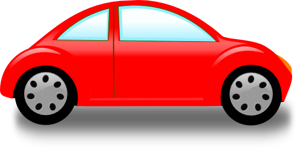Car Red Car Clip Art At Clker - Car Clipart
