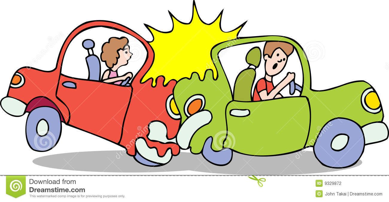 Car Crash No Background Stock Photography Image 9329872