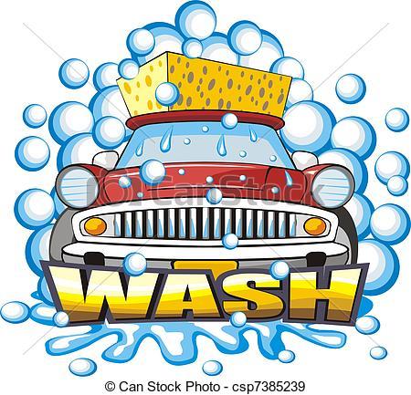 car washing sign - sign a .