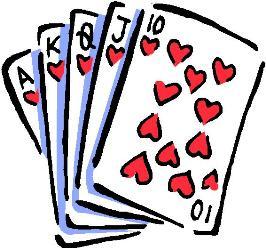 Card clipart casino #1