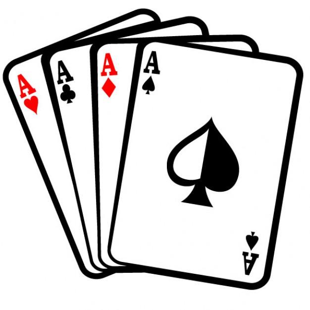 Cards Clip Art Four Aces Poker Cards Clip Art Vector Free Card Clipart Card Clipart