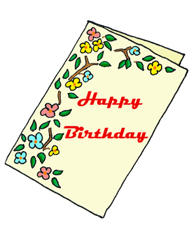 Free Birthday Card Clipart #1