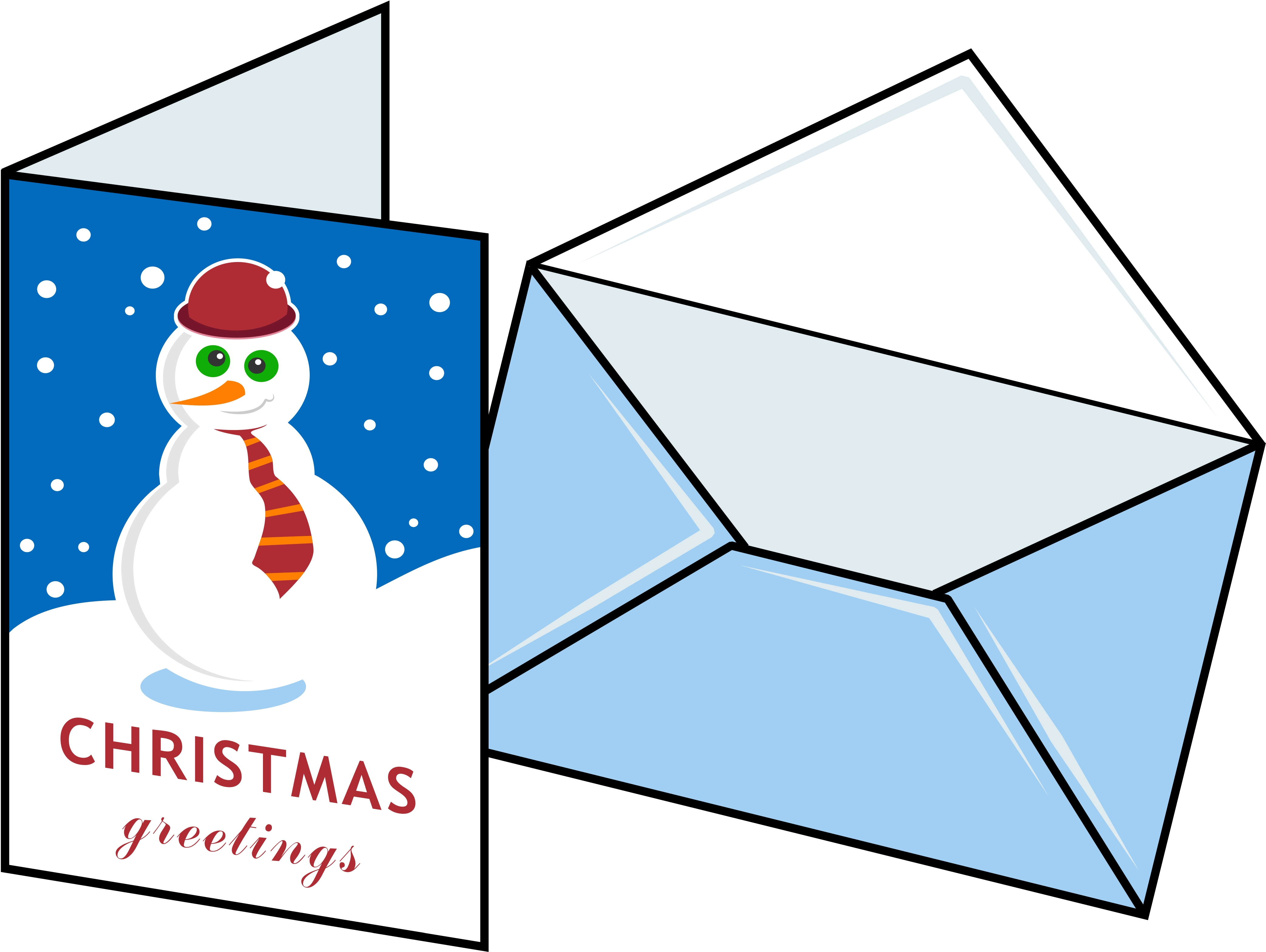 Free Christmas Card Clipart