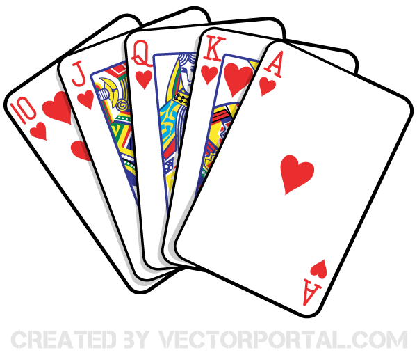 Precious Playing Card Clip Art 78 For Your School Clipart with Playing Card  Clip Art