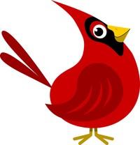 Cardinal clipart cliparts of free download wmf. Carolina at Wilmington, .