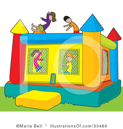 Carnival bounce house clipart kid hsa 2014 2015 upcoming events