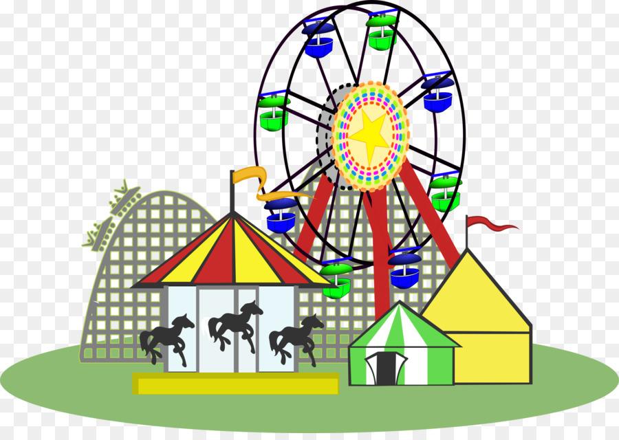 Amusement park Amusement ride Clip art - Carnival PNG Pic